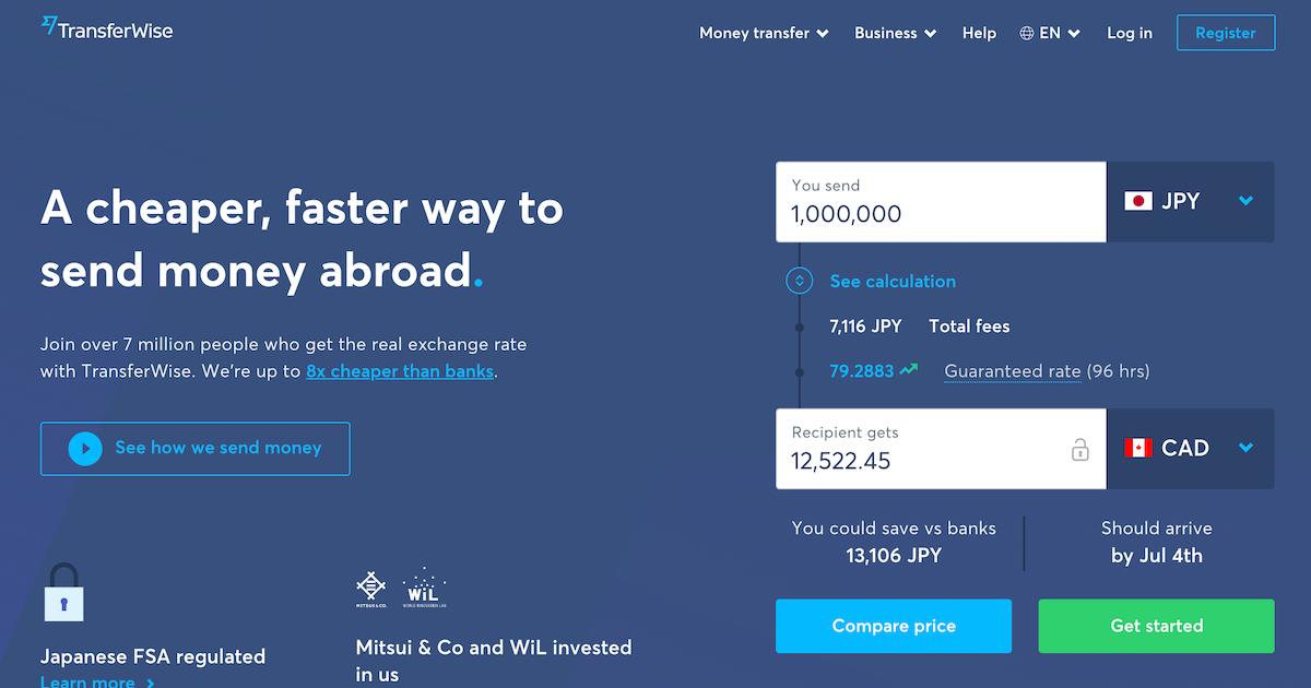 まだ銀行で海外送金してるの?TransferWiseなら手数料を賢く節約できますよ